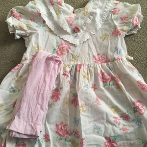 Girls dress. Made by Evy of California. Size 6
